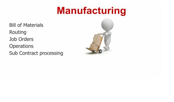 ERP Manufacturing